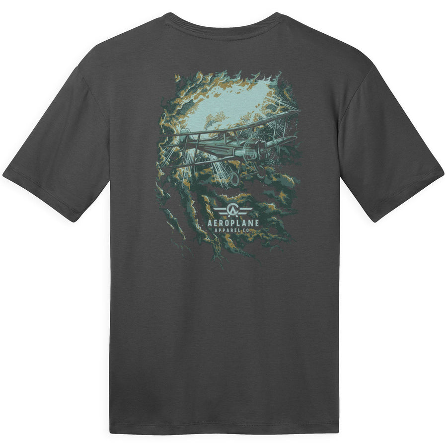 Shirts - Stormy Night Aeroplane Apparel Co. Men's T-Shirt