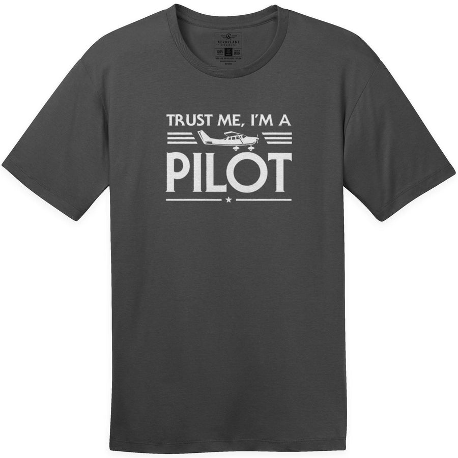 Shirts - Trust Me Im A Cessna Pilot Aeroplane Apparel Co. Men's T-Shirt