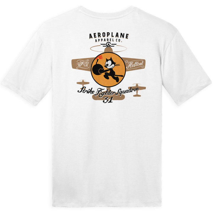 Shirts - VF-31 Aeroplane Apparel Co. Men's T-Shirt