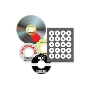 20-UP CD Label Sheet: Neato PhotoMatte CD/DVD Core Labels, 5 Sheets