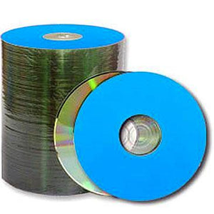 Spin-X CD-R 80Min 48X Diamond/Blue Thermal Printable