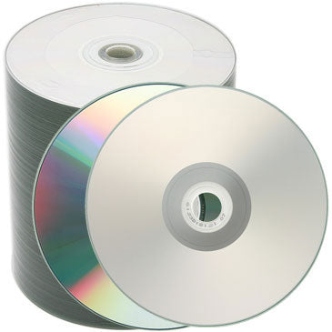 photo relating to Cd R Printable known as Spin-X CD-R 80Min 48X Diamond/ Silver Inkjet Printable, within Hub, No Stacking Ring, Metalized Hub