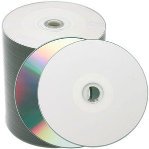 Spin-X CD-R 80Min 48X Diamond/ White Thermal Printable