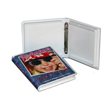 C-Tray CD DVD Album Holds 2 to 12 Disc in CD Pages, 50 Pack