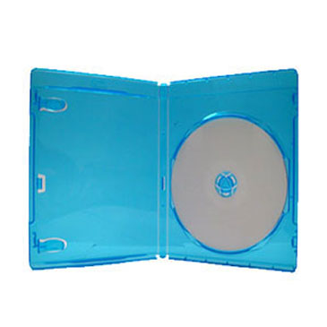 12mm Premium Single Blu-Ray Case w/ Licensed Blu-Ray Logo, 10 Pack