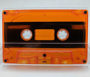 Blood Orange Tint Tab Out 10 Minutes (05 Min. per side) Type I Normal Bias Master Audio Cassette 5 Screws - 25 Pack