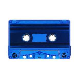 Blue Tint Tab Out Type I Normal Bias Master Audio Cassette Sonic