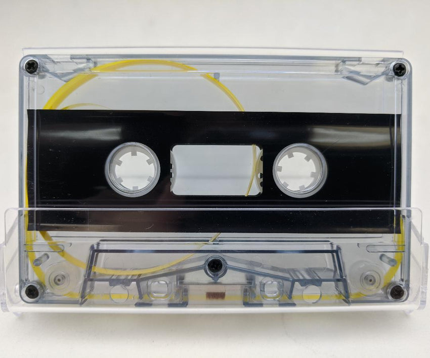 Blue Gray Tint Tab Out 10 Minutes (05 Min. per side) Type I Normal Bias Master Audio Cassette 5 Screws - 25 Pack