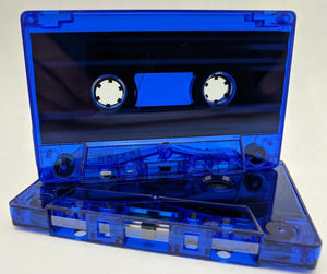Blue Tint Tab Out 10 Min (05 Min. per side) Type I Normal Bias Master Audio Cassette Sonic - 25 Pack