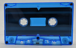 Blue Tint Tab In Type I Normal Bias Master Audio Cassette - 100 Pack