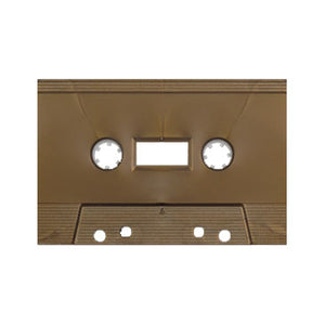 Metallic Gold Tab Out Type I Normal Bias Master Audio Cassette Sonic - 100 Pack