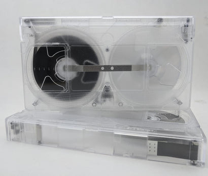 120 Minute High Grade VHS Tape, Clear