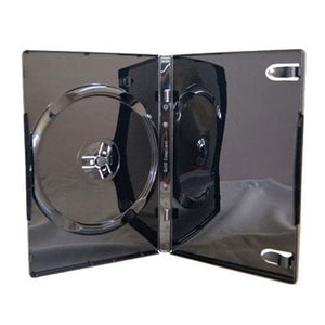 14mm Single Glossy Shiny Black DVD Case