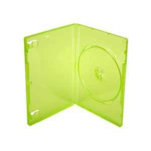 14mm Xbox 360 DVD Cases, Translucent Green