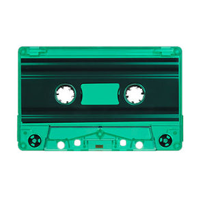 Green Tint Tab Out Type I Normal Bias Master Audio Cassette - 25 Pack