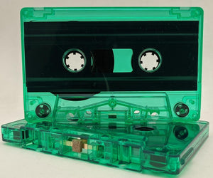 Green Tint Tab Out 10 Min (05 Min. per side) Type I Normal Bias Master Audio Cassette Sonic - 25 Pack