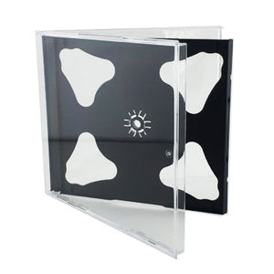 10.4mm CD Jewel Case with Black Tray, Holds 2