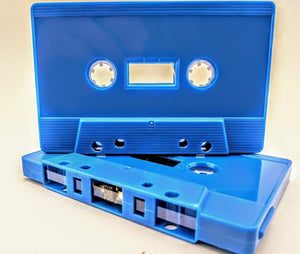 Light Blue Tab Out 10 Minutes (05 Min. per side) Type I Normal Bias Master Audio Cassette Sonic - 25 Pack