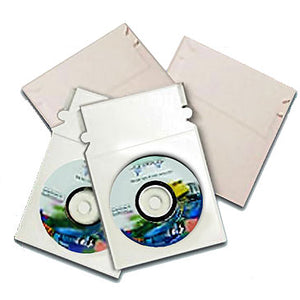 CD White Shiny Board Mailer 5