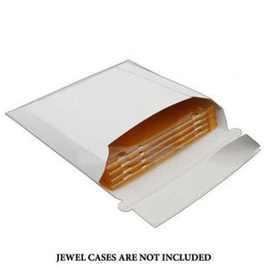 Standard Jewel Case Mailer, 25 Pack