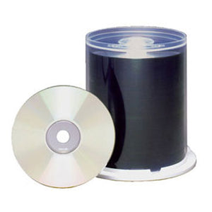 Maxell CD-R 48X 80Min Silver Inkjet Printable, 100 Pk. Spindle
