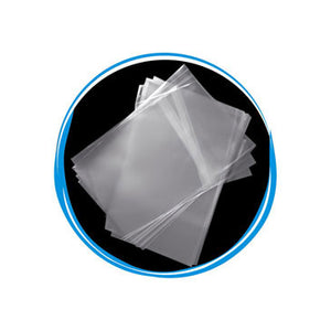 OPP Sealable Crystal Clear Plastic Bag for 12mm Blu-Ray Case