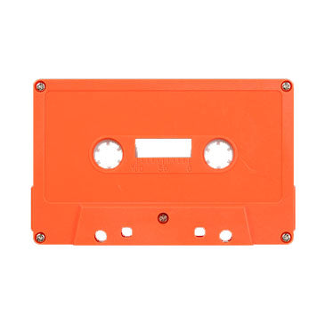 Orange Tab Out Type I Normal Bias Master Audio Cassette