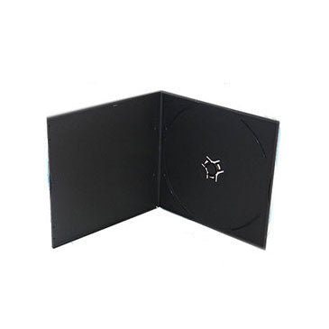 .8mm Super Slim CD Poly Case Black with Sleeve