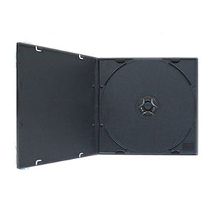 5.2mm Slim CD Poly Case Black with Sleeve Short Version