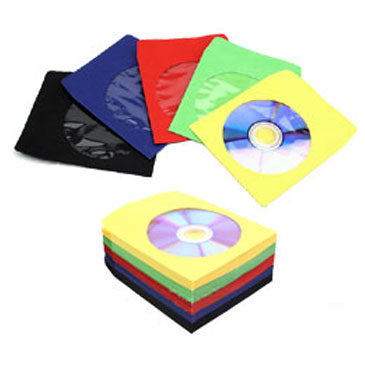 CD Paper Sleeve with Window (Multi-Color)