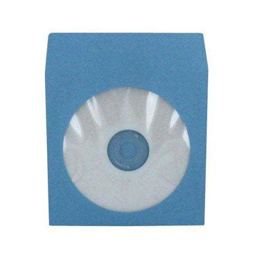 Sky Blue CD Paper Sleeve with Window