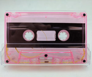 Pink Tint Tab Out 10 Minutes (05 Min. per side) Type I Normal Bias Master Audio Cassette 5 Screws - 25 Pack