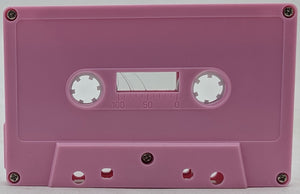 Pink Tab Out Type I Normal Bias Master Audio Cassette - 25 Pack