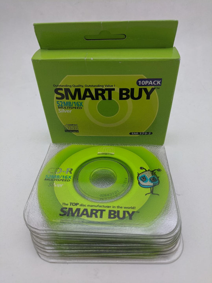 Smart Buy Business Card CDR 16X - 10 Pack
