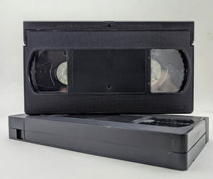 120 Minute High Grade VHS Tape, Black Tab Out