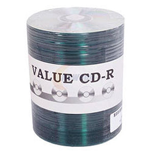 CMC Pro (TY) Valueline CD-R 80Min 52X Silver Thermal Lacquer with Metallized Hub