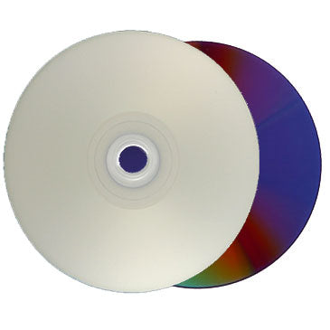 Titan DVD-R 16X 4.7GB Glossy Silver Inkjet Hub Printable Metalized Hub