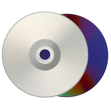 Titan DVD-R 16X 4.7GB Silver Inkjet Hub Printable Metalized Hub
