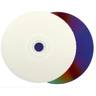 Titan DVD-R 16X 4.7GB White Inkjet Hub Printable Clear Hub
