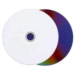 Titan DVD+R 16X 4.7GB White Inkjet Hub Printable Clear Hub