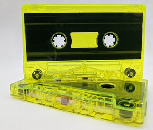 Yellow Tint Tab Out Type I Normal Bias Master Audio Cassette Sonic - 25 Pack