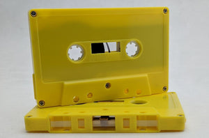 Audio Cassette Decoration Purpose Only (Non-Functioning), 25 Pack