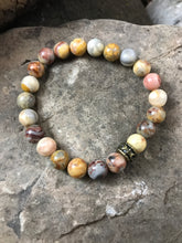 Natural Crazy Lace Agate Bracelet
