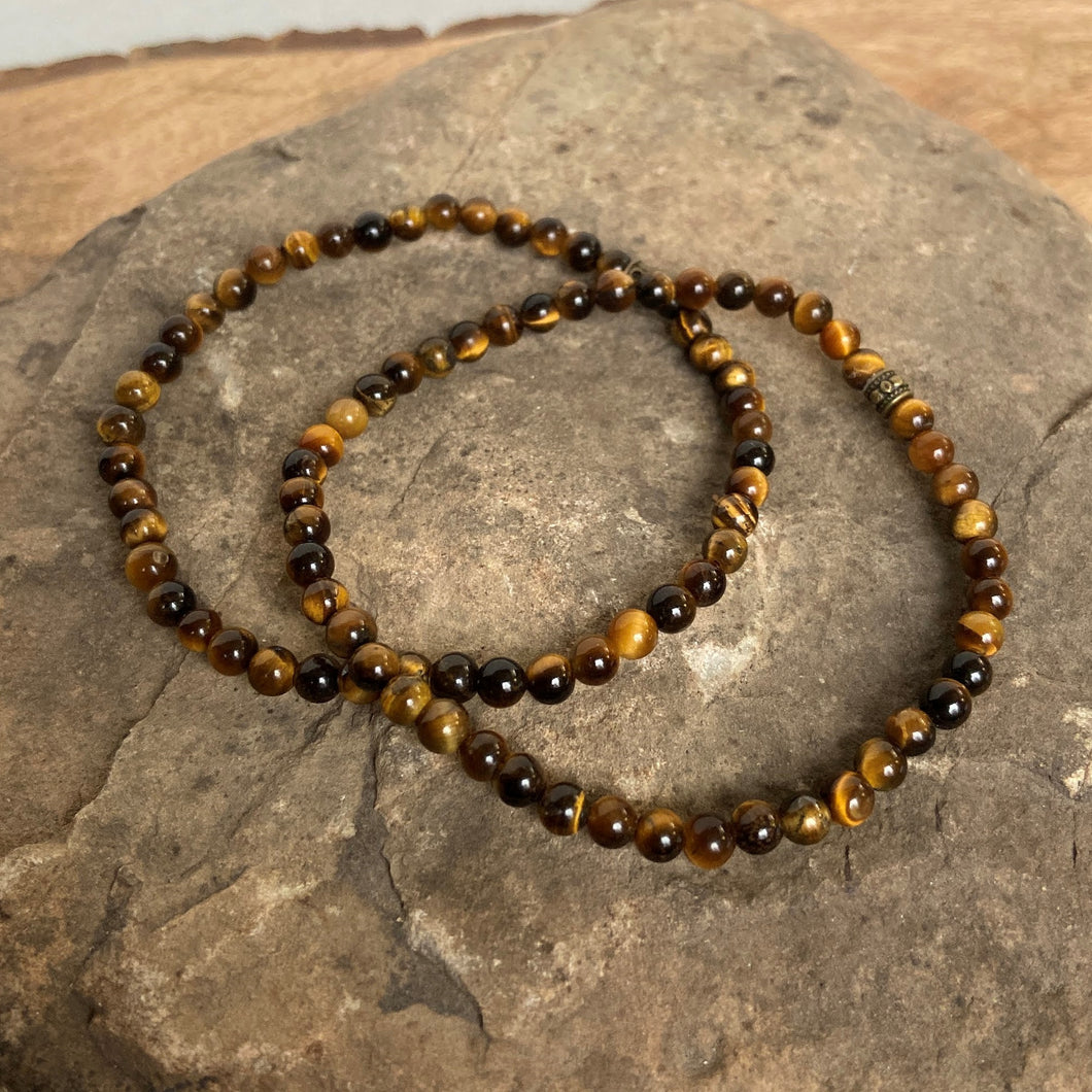 Mini Tiger Eye Bracelet