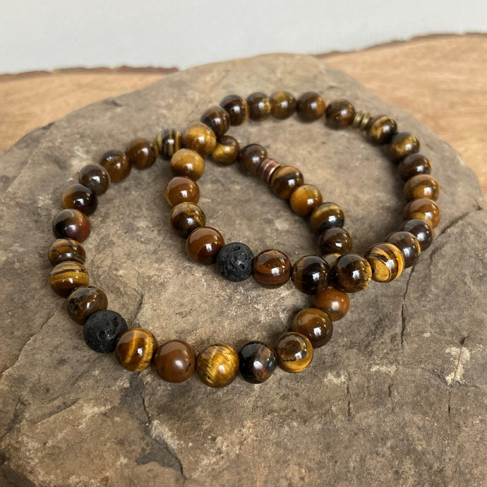 Tiger Eye polished