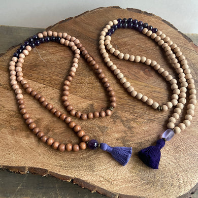 Purple Malas #1 and #2