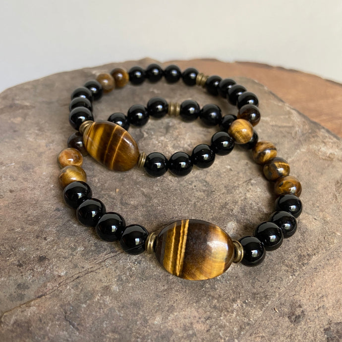 Tiger Eye Focal Bracelet