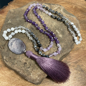 Amethyst Array Mala