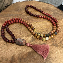 Wood Malas - Brown