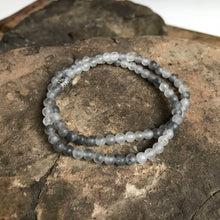 Cloud Quartz Mini Bead Bracelet